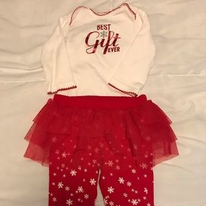 Carter's Best Gift Ever Christmas outfit